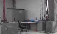 Estrutura de 7 andares sujeita a ensaio sísmico