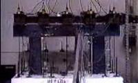 Ensaio em Estrutura Reabilitada com Polímeros Reforçados com Fibra