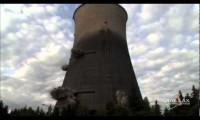 Implosão de Central Nuclear
