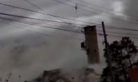 Implosão de Fábrica de Cimento