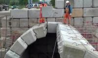 Construção de Arcos com Blocos de Betão