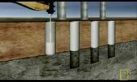 Construção de Estacas de Ponte
