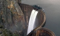 Descarga Barragem Santa Luzia