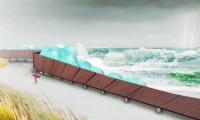 Barreiras de Proteção Costeira Contra o Furacão Sandy