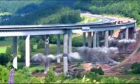 Demolição de um Viaduto de Betão na Alemanha