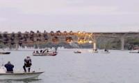 Demolição de Ponte Metálica a 300 fps