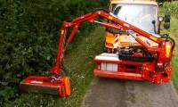 Sistema Para Corte de Vegetação em Estradas