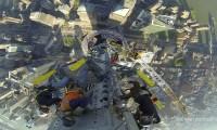 Instalação do Pináculo do One World Trade Center