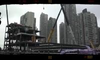 Chineses Constroem Pavilhão em 14 horas