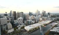 Construção de Estação Ferroviária em Melbourne