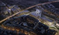Projeto urbano da zona comercial central da cidade de Praga