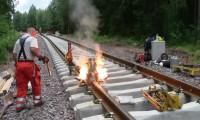 Soldadura de Carris Ferroviários