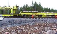 SVM 1000: Sistema de construção ferroviária da Plasser & Theurer