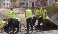 Os Trabalhadores da Construção Mais Preguiçosos do Mundo