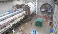 Avanço de uma Tuneladora TBM