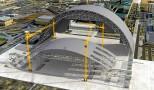Processo de Construção da Nova Estrutura de Confinamento de Chernobyl