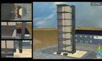 Modelo de Edifício de 7 Pisos Sob Acções Sísmicas